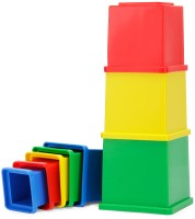 Funskool Stacking Cubes: Stacking Toy