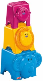 Fisher Price Stacking Toys Fisher Price Animal Stack & Nest Block