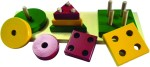 Kinder Creative Stacking Toys Kinder Creative Shapes and Sizes Exploration Board