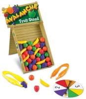 Learning Resources Avalanche Fruit Stand Game (Multicolor)