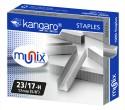 Kangaro Heavy Duty Stapler Pins - Set Of 10, Metallic