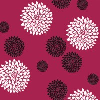 Decorze Pink Wall Decor FS-05 Flower Stencil (Pack Of 1, Floral)