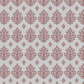 Decorze White Wall Decor DS-20-SA Floral Stencil