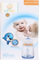 Ole Baby Dual Feeding Bottle Electric Steam Sterlizer Cum Food Warmer Cum Heating(Upto 250 Ml Each) - 2 Slots (White)