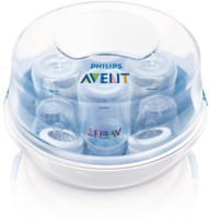 Philips Avent Microwave Steam Sterilizer - 8 Slots (White)