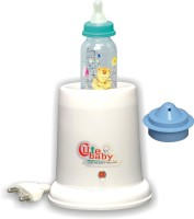 Littles Paradise CuteBaby Junior ,Instant Bottle Warmer Steam Inhaler. - 1 Slots (white)