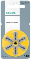 Siemens Hearing Aid Battery Size 10 (36 PCS) (Yellow)