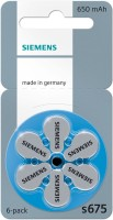 Siemens Hearing Aid Battery Size 675 (36 PCS) (Blue)