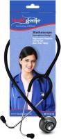 Healthgenie Doctor Dual Aluminum HG-203B Acoustic Stethoscope (Black)