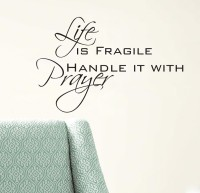 Decor Kafe Life Prayer Self Adhesive Wall Decal Large Size-29*19 Inch Wall Sticker Sticker (Pack Of 1)