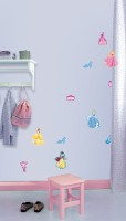 Decofun Princess 10 Mini Foam Elements - 24111 Wall Sticker