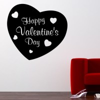 Decor Kafe Decal Style Valentine Day Art Small Size-14*13 Inch Wall Sticker Sticker (Pack Of 1)