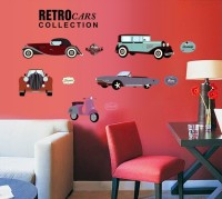 SYGA Car Styling Wall Pvc Vinyle Sticker (Pack Of 1)