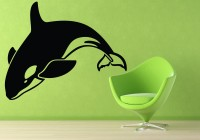 Decor Kafe Fish Self Adhesive Wall Decal Large Size-43*33 Inch Wall Sticker Sticker (Pack Of 1)