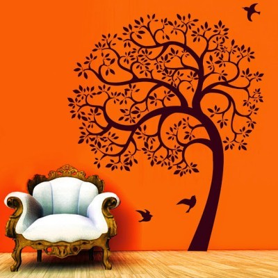 destudio morning with nature two size tiny wall sticker for rs. 199