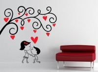 Decor Kafe Decal Style Be My Love Wall Small Size-16*16 Inch Vinyl Film Sticker (Pack Of 1)