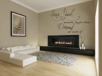 Decor Kafe Decal Style New York Art Small Size-22*14 Inch Wall Sticker Sticker (Pack Of 1)