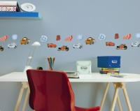 Decofun Cars 24 Mini Foam Elements - 23863 Wall Sticker