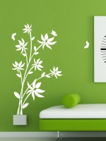 Trends On Wall Large Nature Sticker (Pack Of 1)