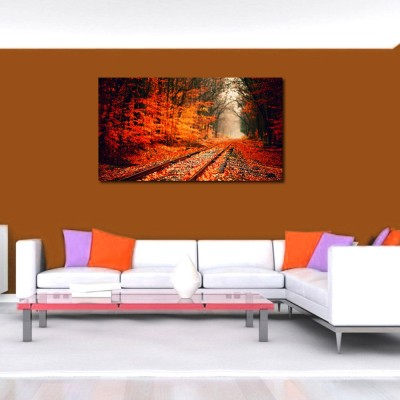 50 off on 999store train track in the forest vinyl home for Home decor 50 off