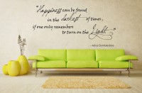 Decor Kafe Decal Style Happiness Wall Medium Size-28*14 Inch Vinyl Film Sticker (Pack Of 1)