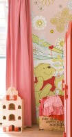 Decofun Pooh & Friends Door Panel - 93 Wall Sticker