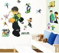 Oren Empower Ben 10 Wall Sticker (Multicolor)