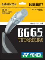 Yonex BG 65 Ti 0.70 mm Badminton String - 10 m: String