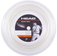 Head Sonic Pro Edge Reel 16 Tennis String - 200 M (White)