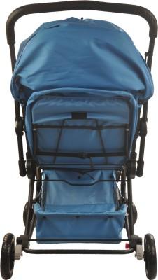 Notty Ride Baby Pram Cum Rocker (Blue) (Blue)