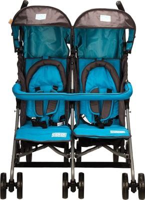 Mee Mee Baby Twin Stroller (Blue)