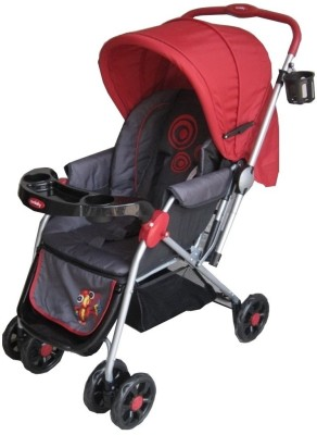 Sunbaby Red Leonardo Stroller with Rocking (Red)