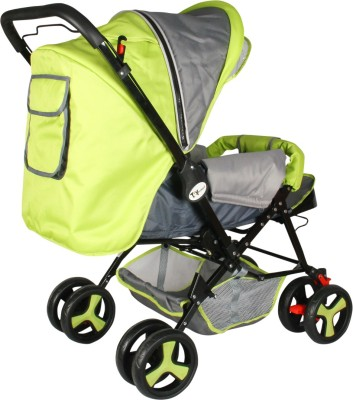 Toyhouse Stylish Pram (Green)