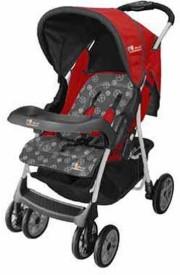 The Li'l Wanderers Stroller HA Grey&Red