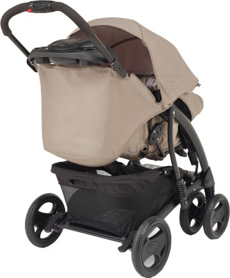 Graco Quattro Tour Deluxe Travel System Bear Friends Beige