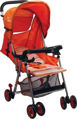 MeeMee Baby Pram (Orange)