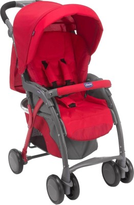 Chicco New Simplicity Plus Stroller (Red)