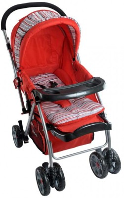 30% discount on MeeMee Sleek & Strong Comfort Pram (Red) Stroller at Flipkart. com, available at Rs. 4546 of MRP Rs. 6495