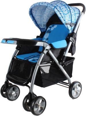 abdc kids BABY PRAM _ STROLLER BR735B_BLUE (Blue)