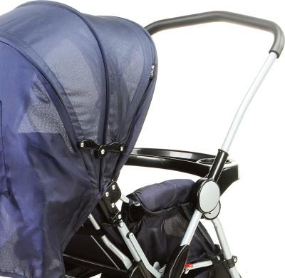 Luvlap 2 in 1 Baby stroller with Rocker (Blue)