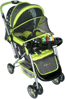 Pollyspet Baby Stroller (Green)