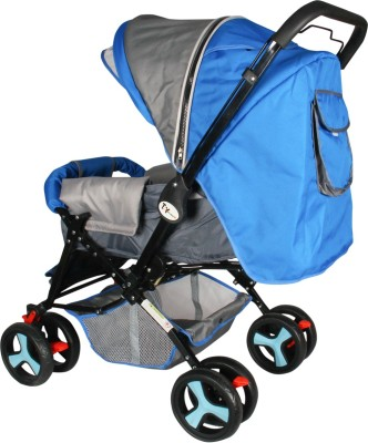 Toyhouse Stylish Pram (Blue)
