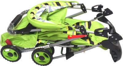 Sunbaby Baby Buggy cum Stroller (Green)