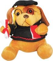 Atorakushon Advocate Musical Soft Teddy Bear Love Valentine Couple Birthday Gift  - 21 Cm (Multi)