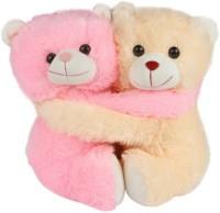 Ktkashish Toys Kashish Cute Couple Teddy  - 8 Inch (Pink)