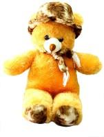 Ktkashish Toys Kashish Cute Brown Cap Teddy Bear 70 Cm  - 27 Inch (Brown)