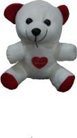 Ekku White Teddy Bear  - 5 Inch (White)