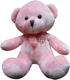 Soft Buddies Cute Bear with Bow - 7 inch