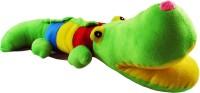 Tabby Multi Colour Sparkling Crocodile - 4 Inch (Multicolor)