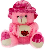 Ganpati Traders Cap-heart Teddy Bear  - 23 Inch (MULTI)